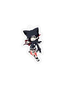【キーホルダー】ジャージ部の黒い子