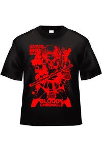 Bloody Chronicle Stage:AA (黒赤TシャツXXLサイズ)