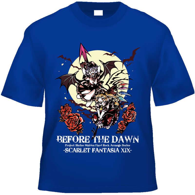 BEFORE THE DAWN Tシャツ(色:青/サイズ:L)
