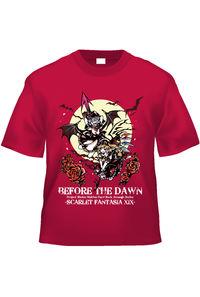 BEFORE THE DAWN Tシャツ(色:赤/サイズ:L)