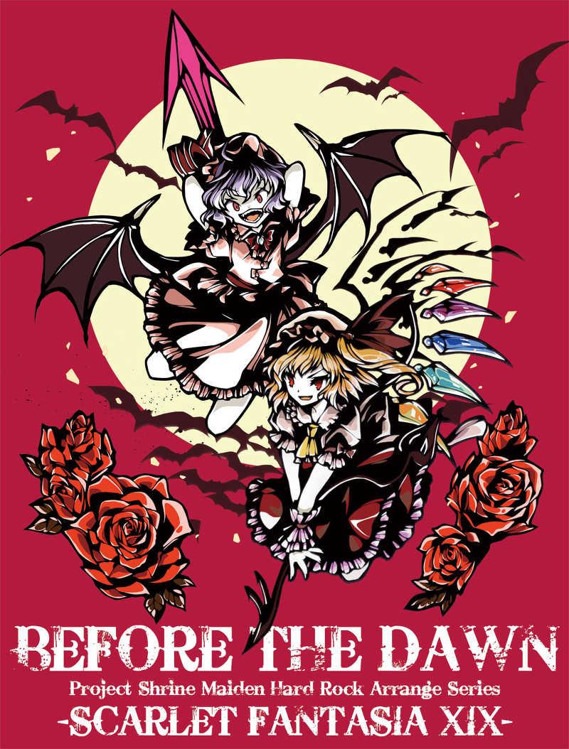 BEFORE THE DAWN Tシャツ(色:紫/サイズ:M)