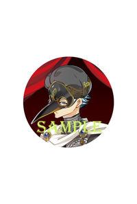 「ラッキードッグ1」10th ART GALLERY スタンド缶バッジキーホルダー仮面ON イヴァン