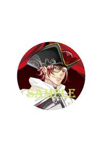 「ラッキードッグ1」10th ART GALLERY スタンド缶バッジキーホルダー仮面ON ルキーノ