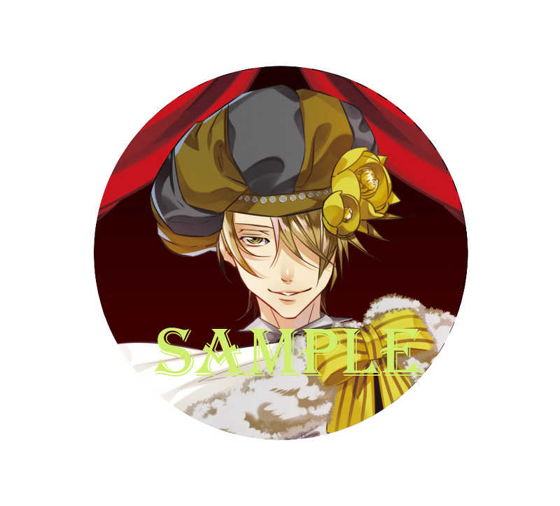 「ラッキードッグ1」10th ART GALLERY スタンド缶バッジキーホルダー仮面OFF ジャン [株式会社虎の穴(由良)] ラッキードッグ1