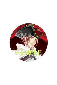 「ラッキードッグ1」10th ART GALLERY スタンド缶バッジキーホルダー仮面OFF ルキーノ