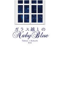 ガラス越しのNavyBlue