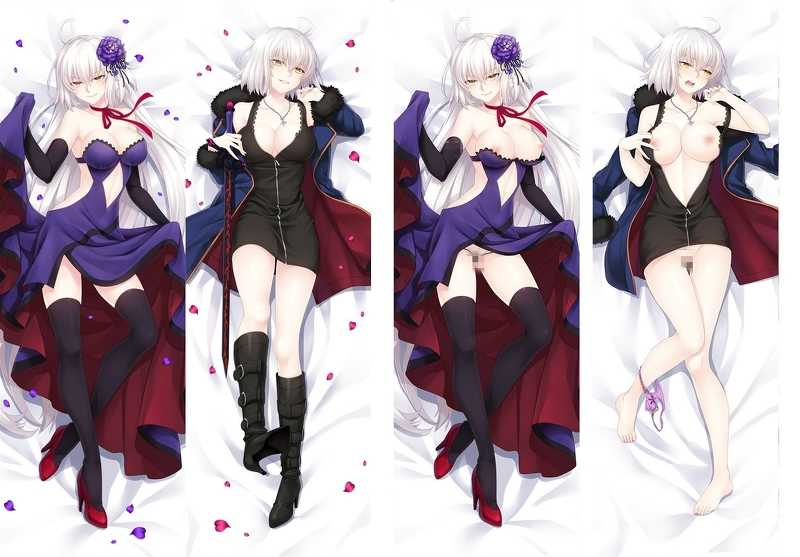 Fate Grand Order ジャンヌ・ダルク 2枚重ね脱着式 抱き枕カバー 萌工房=MGF mz09960-3