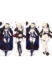 Fate stay night セイバーオルタ 2枚重ね脱着式 抱き枕カバー 萌工房=MGF mz09959-3