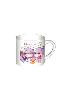 【マグカップ(小)】シェアするメイドちゃん マグカップ(小)