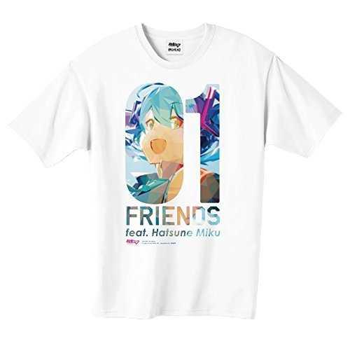 初音ミク/01 FRIENDS feat.Hatsune Miku Tシャツ-L