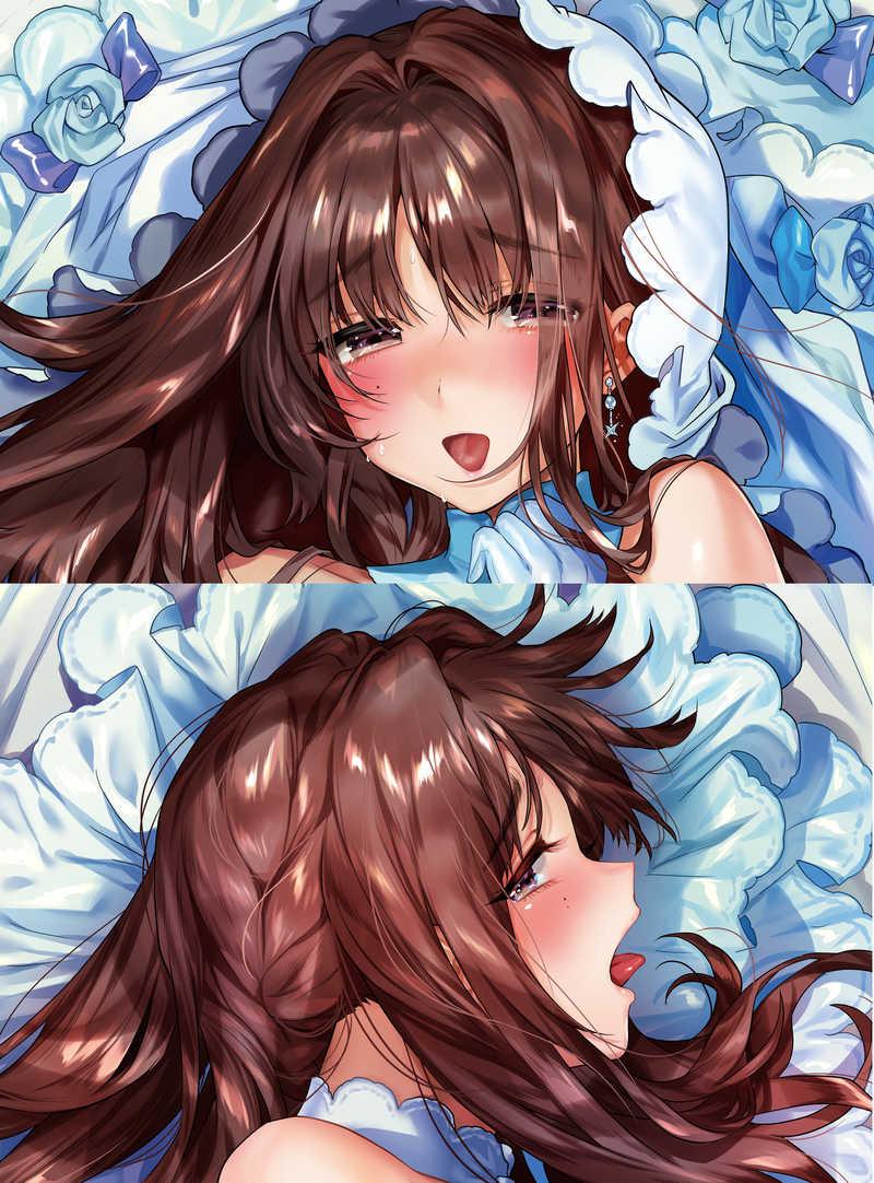 まりあ姉抱き枕カバー2(ウェディングver)
