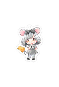 【キーホルダー】ネズミの女の子