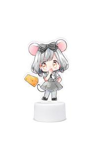 ネズミの女の子【 ボトルキャップステージ】