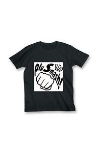 【Tシャツ】pluSmash! ロゴTシャツ BLACK size:L