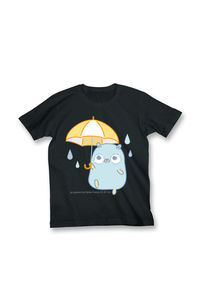 【Tシャツ】雨とGopherくん