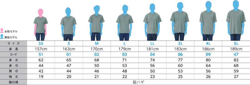 ドライメッシュTシャツ 秋雲 5Lサイズ