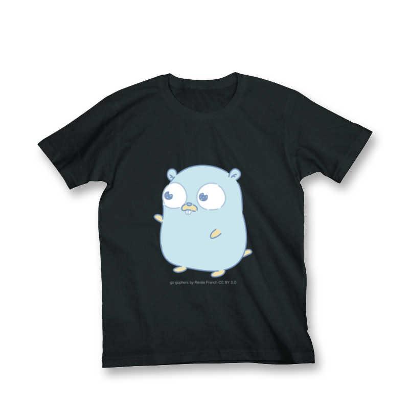 Gopherくん Tシャツ(Lサイズ) [とらのあなクラフト公式(とらのあなクラフト公式)] その他