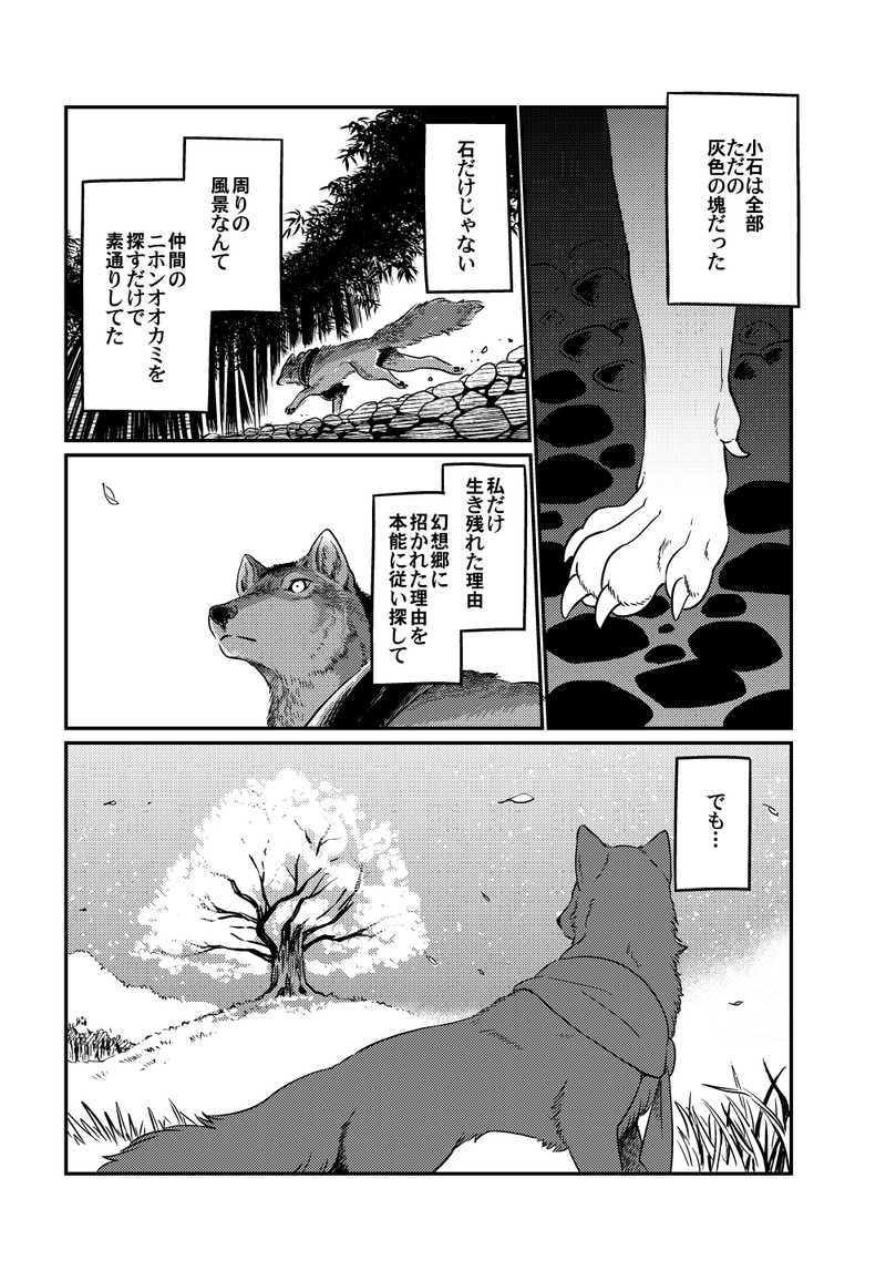 オオカミに水の宝石
