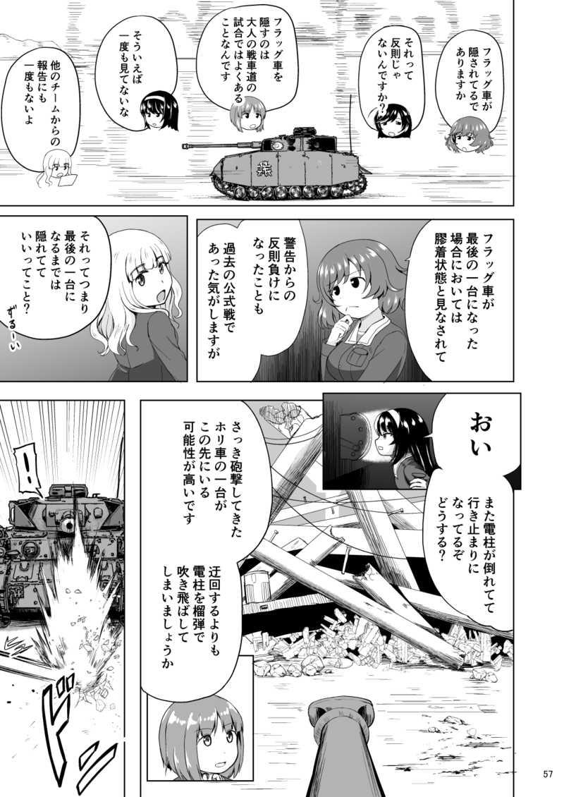 ガルパンVS艦これ 第三話