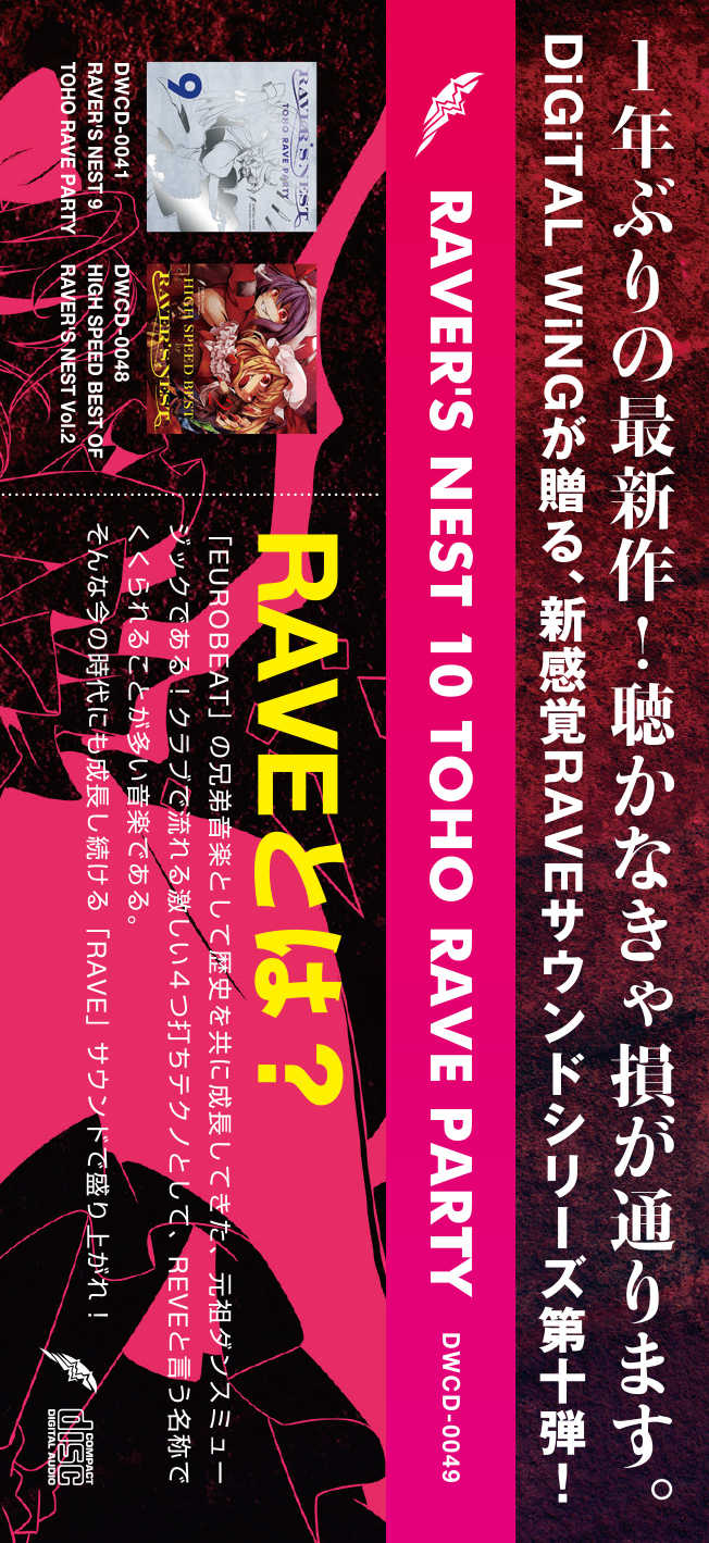 RAVER'S NEST 10 TOHO RAVE PARTY