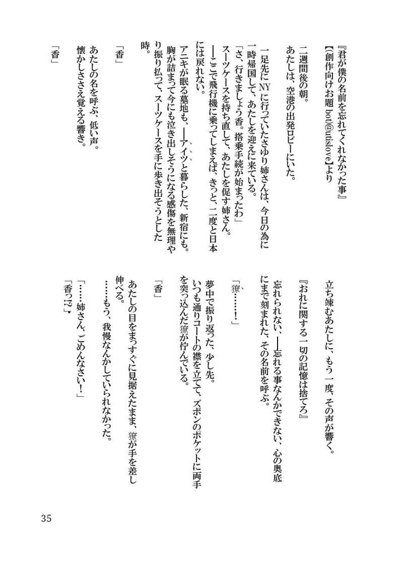 小説 二 シティー ハンター 次