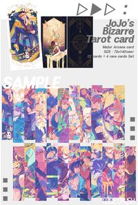 JoJo's Bizarre Tarot card