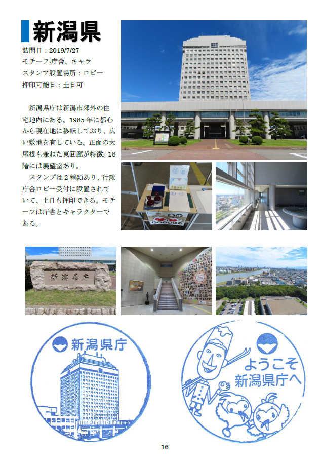 県庁スタンプ集(東日本編)