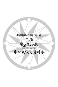 Unlimited material 1/R 魔法使いの夜非公式設定資料集