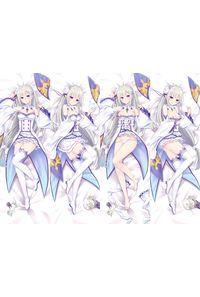 Re:ゼロから始める異世界生活 エミリア 2枚重ね脱着式 抱き枕カバー 萌工房=MGF mz09765-3