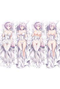 Fate Grand Order マシュ・キリエライト 2枚重ね脱着式 抱き枕カバー 萌工房=MGF mz09970-3