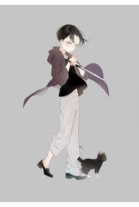 子リヴァイ&黒猫アクキー