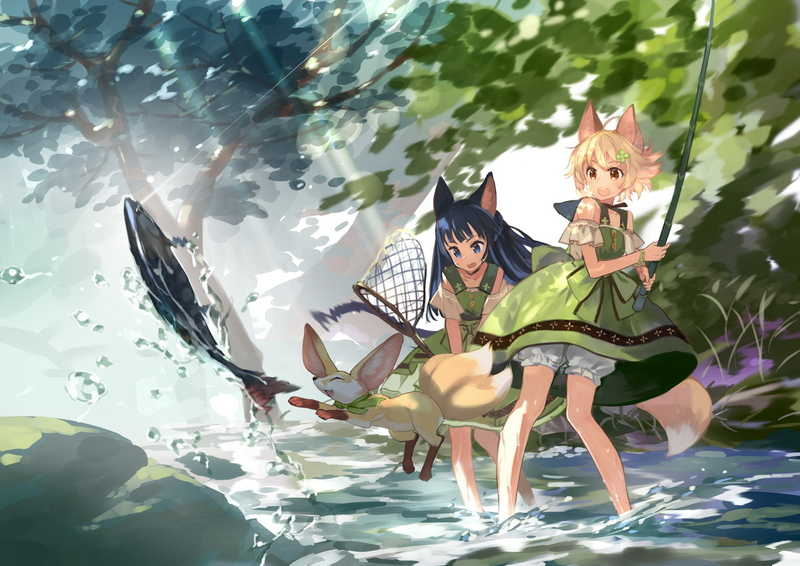 THE IMAGE OF FOXTAILS 9