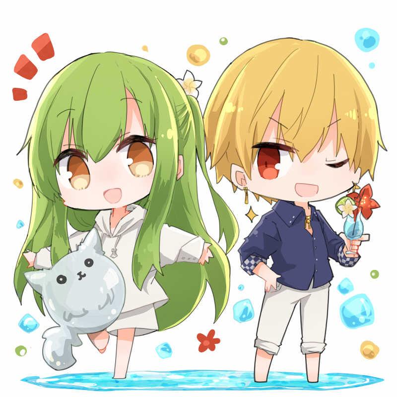 【FGO】ギルガメッシュ&エルキドゥ サマーアクリルスタンド [Felicia(塩葛餅)] Fate/Grand Order