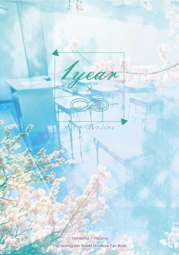 1year × ∞ [色の咲く庭(イロサキ カエデ)] アイドルマスター SideM