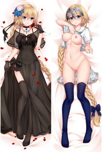 Fate/Grand Order+R18ジャンヌ・ダルクドレス姿 抱き枕カバー【17127R】