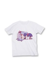 【Tシャツ size S】横になるメイドちゃん
