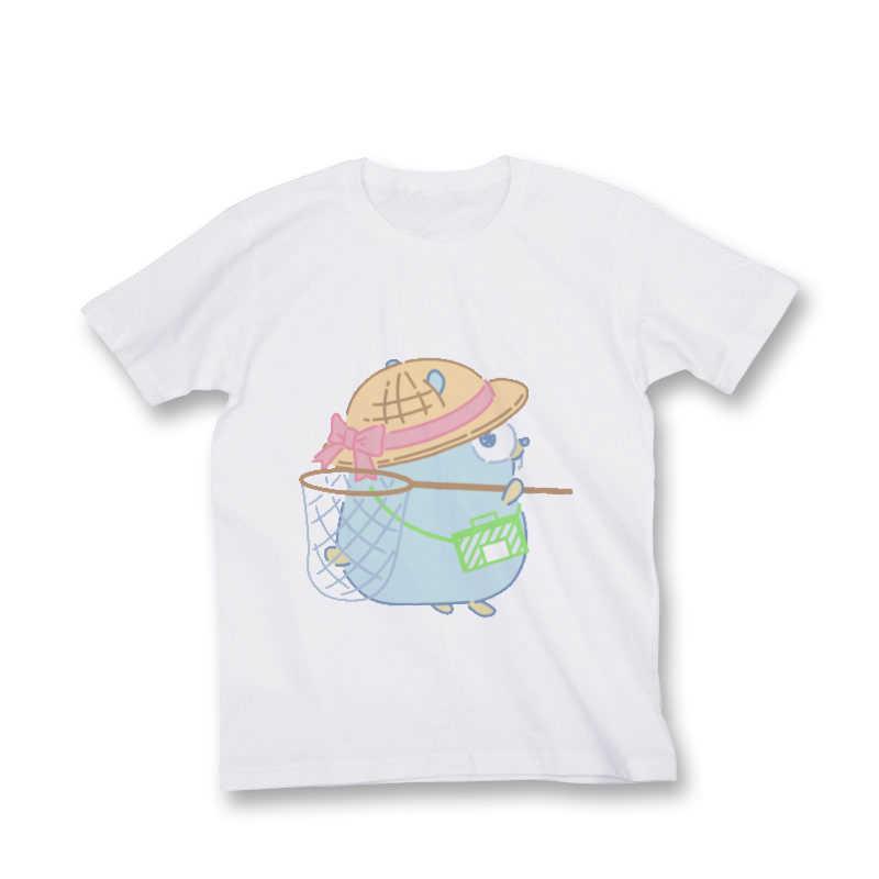 【Tシャツ size S】虫取りGopherくん [とらのあなクラフト公式(とらのあなクラフト公式)] その他