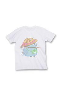 【Tシャツ size L】虫取りGopherくん