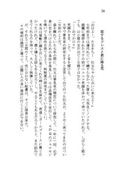 断罪の月・番外編