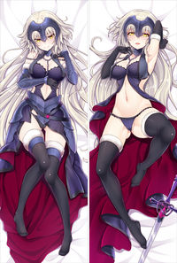 Fate/Grand Order-ジャンヌ ダルク 抱き枕カバー【0678】