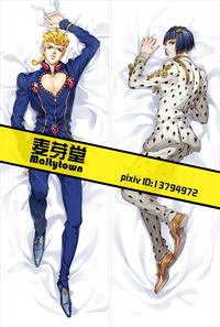 ジョジョの奇妙な冒険 黄金の風 ジョルノ ブローノ 抱き枕カバー【0802】