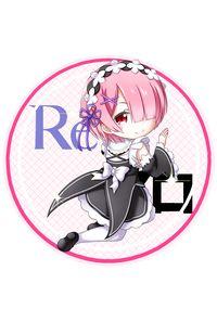 Re:ゼロから始める異世界生活 ラム 丸形ステッカー