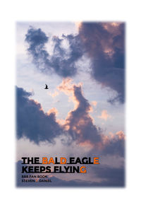 The bald eagle keeps flying