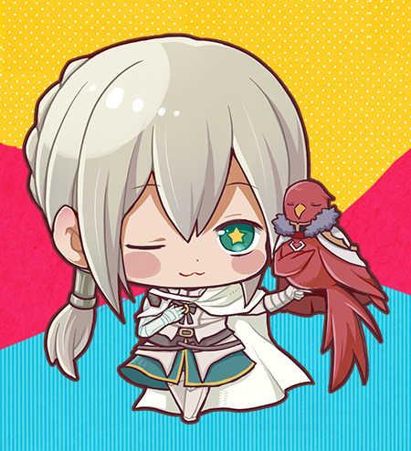 FGOアクリルキーホルダーベディヴィエール [イバラ同盟!(いざねこ)] Fate/Grand Order
