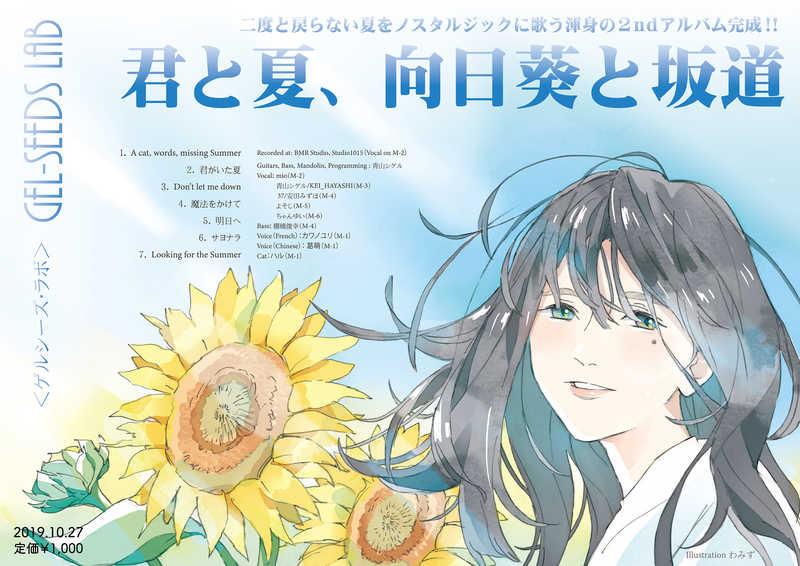 君と夏、向日葵と坂道