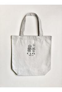 星梨花さんと歌織さんトートバッグ(ライトグレー)