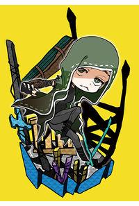 第五人格長方形ステッカー(傭兵)
