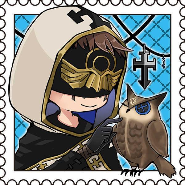 第五人格切手風ステッカー(占い師・羊飼い)