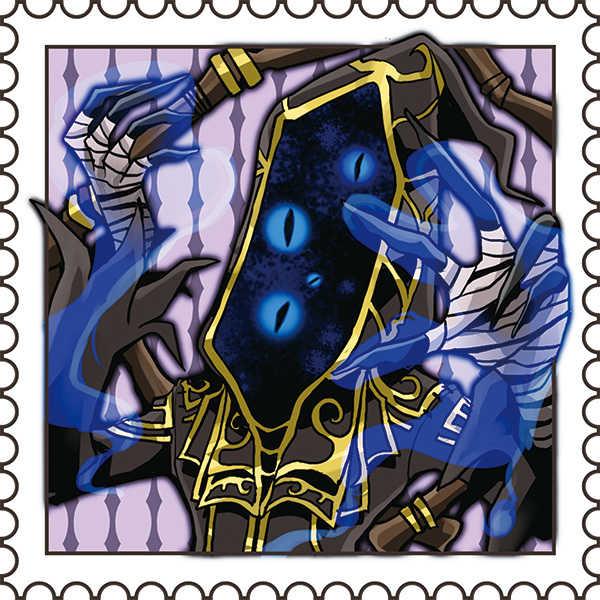 第五人格切手風ステッカー(黄衣の王・祝宴)