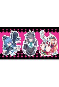 【ゴスロリ系】オリジナルアクリルキーホルダー3個セットC
